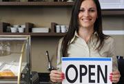 Women's Business Center is open