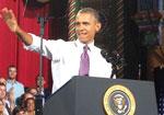 President Obama visits Kansas City