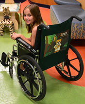girl in Wheelchair Personalities wheelchair