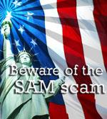 SAM scam