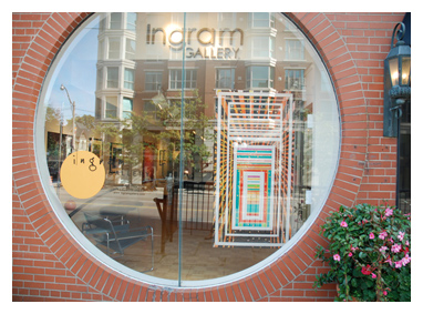 Ingram Gallery Front Window