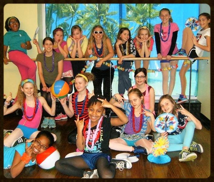 TDS Dancers Celebrate Hawaiian Tropics Week 2013!