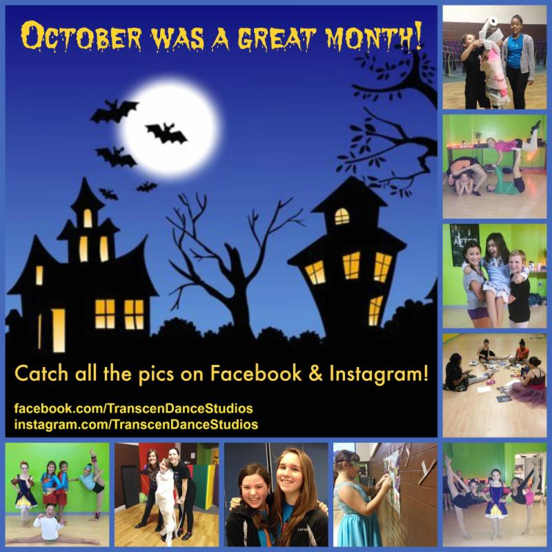 Catch the October pics on Facebook & Instagram