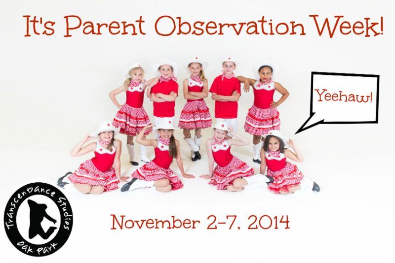 Parent Observation Week