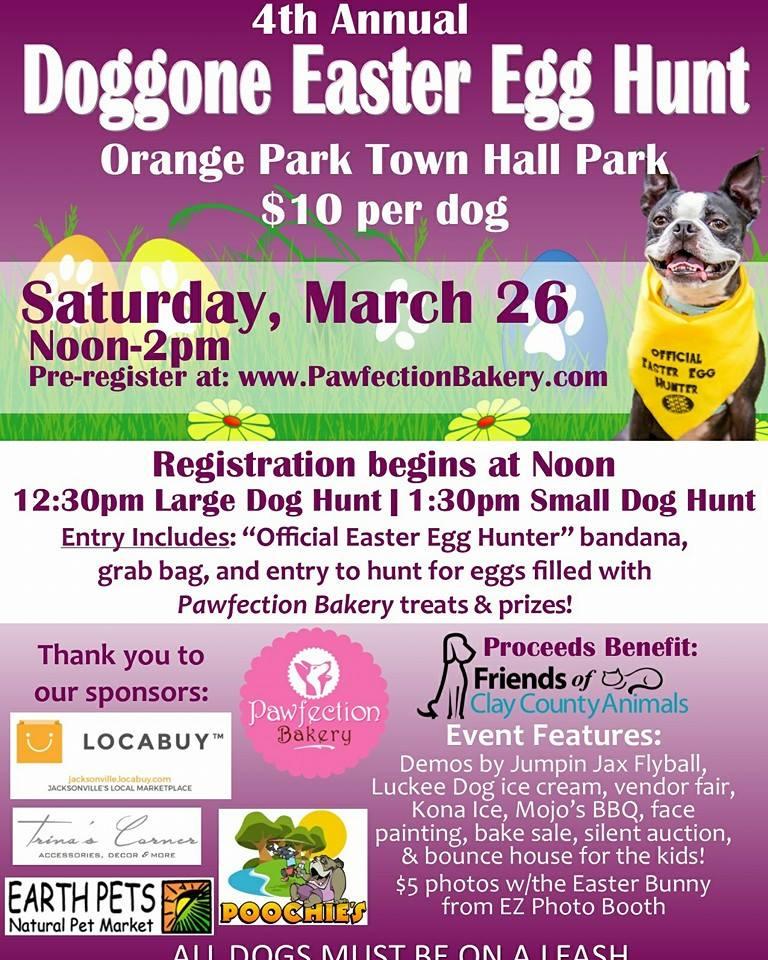 Dog Gone Easter Egg Hunt Poster