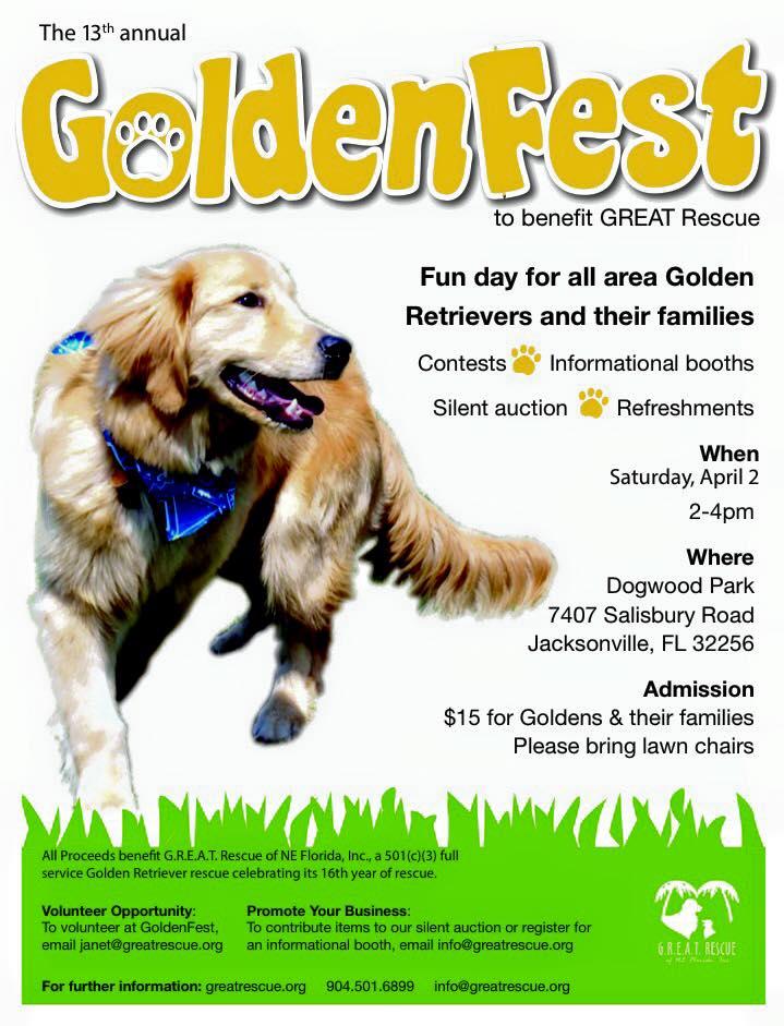 GoldenFest flyer