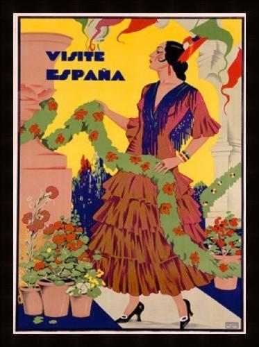 Spain Travel Poster