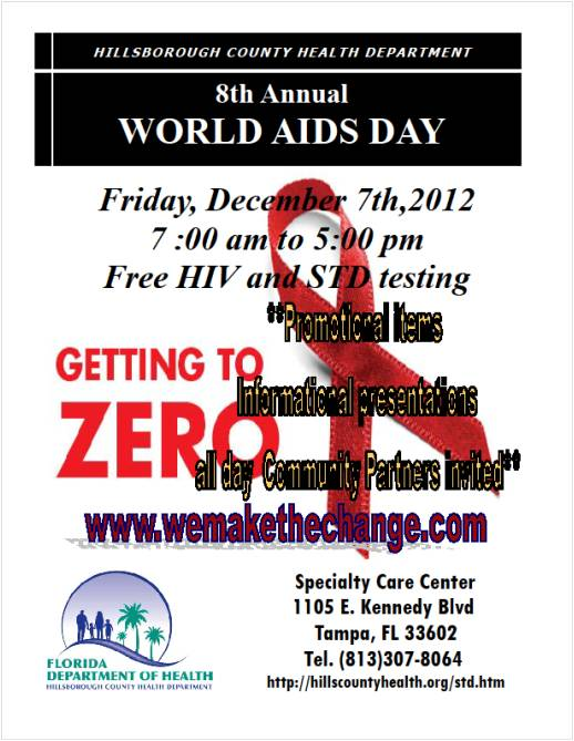 World AIDS Day Dec 2012