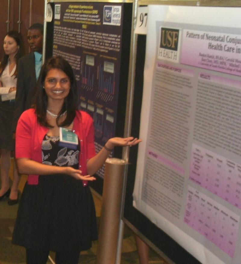 Roshni Ranjit USF Health Research poster