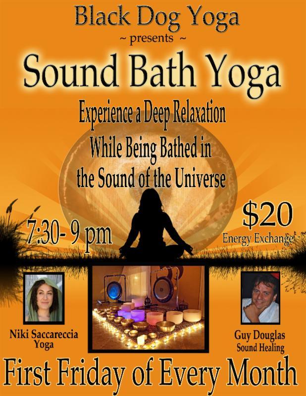 Sound Bath monthly