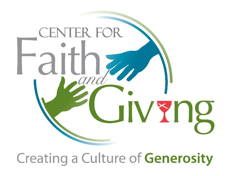 faith and giving logo with vision