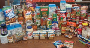 Donations to the West Suburban Community Food Pantry
