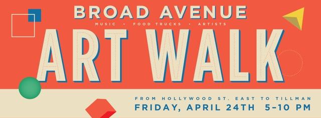 Broad Avenue Spring Art Walk Friday