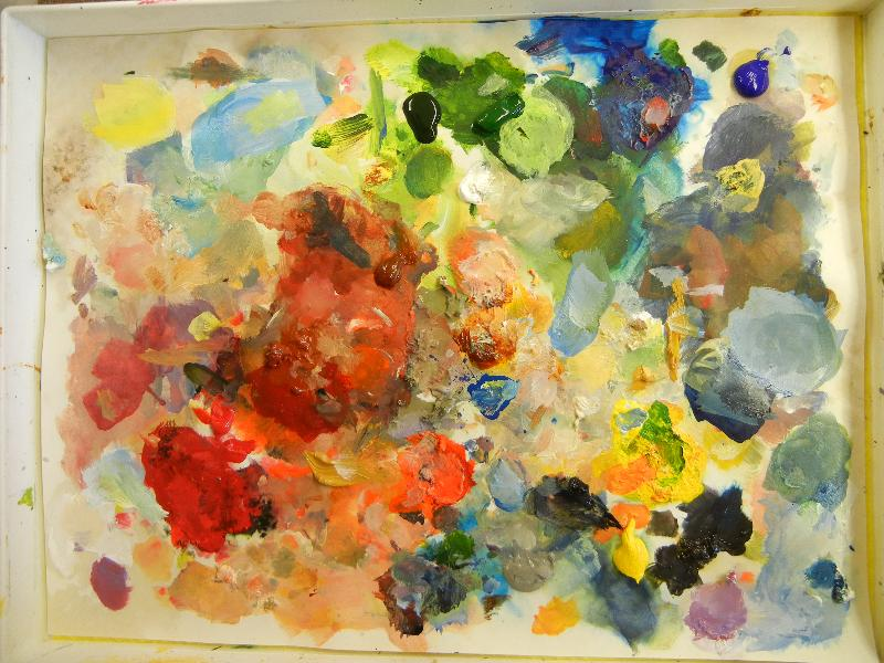 Pallette from Camlin Project