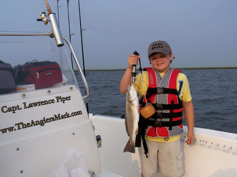 Nice Redfish for this young man!