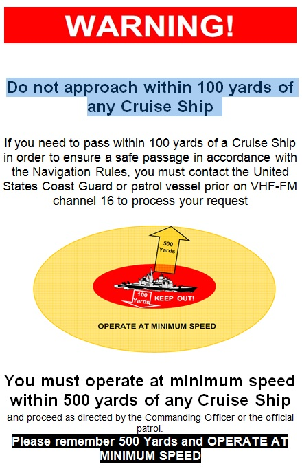 Cruise Ship Warning
