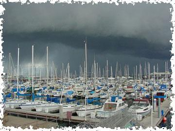 Weather over Harbor