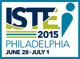 ISTE logo with border