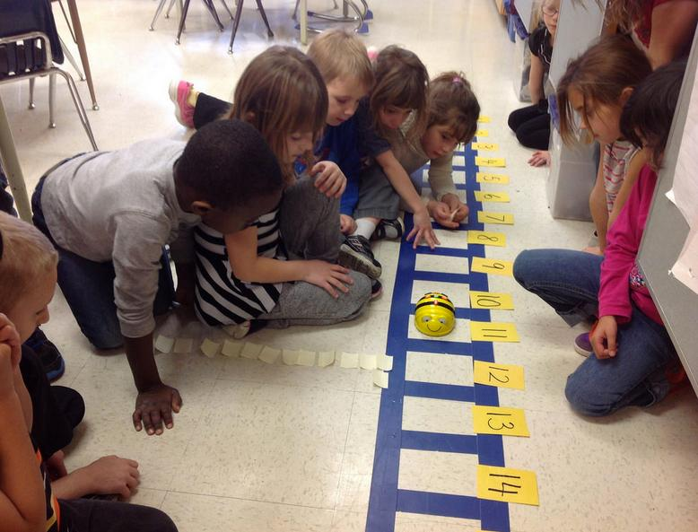 Addition and Subtraction with Bee-Bot