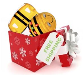 Free shipping Holidays
