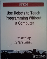 SIGCT Programming with Robots