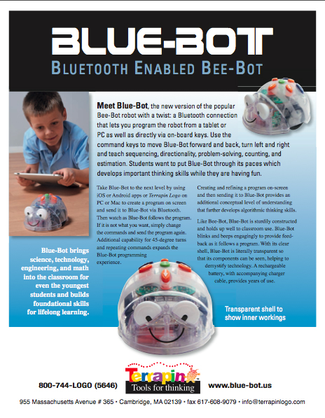 Blue-Bot Product Sheet