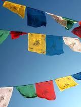 Tibetan pray flags