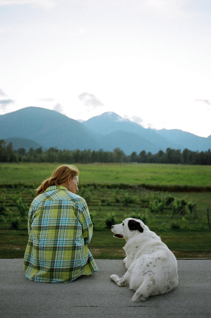 Susan and Dog