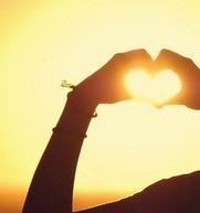 sun,heart