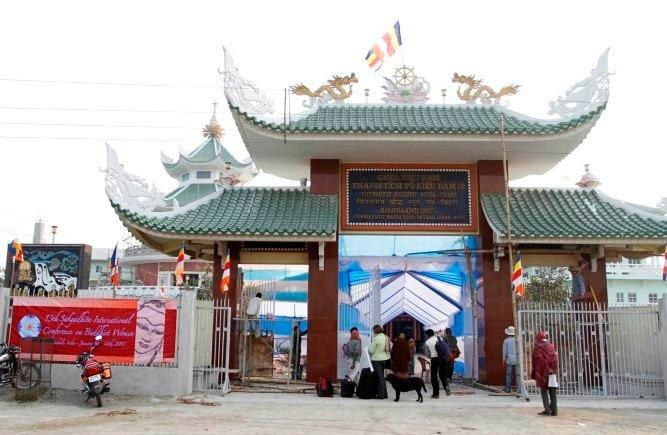 Vaishali Temple Gate