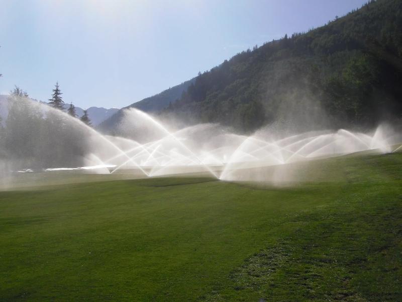 6th Green Irrigation
