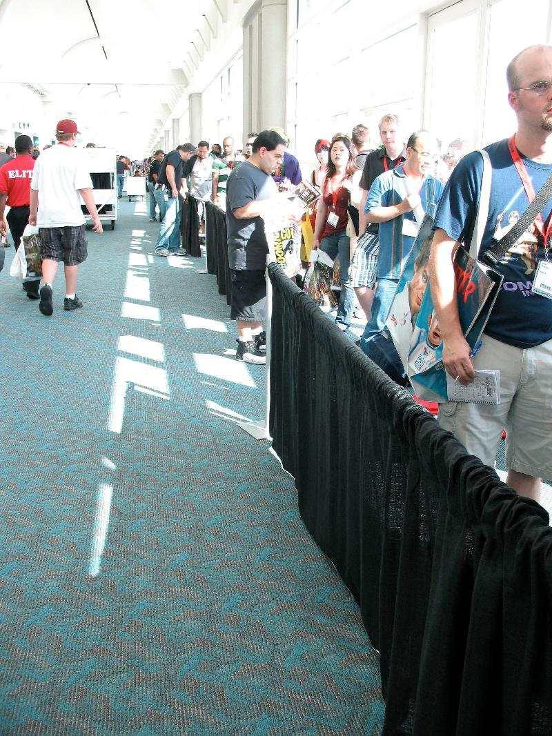 Dexter Line at Comic-Con