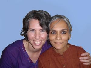 Caroline and Sangita