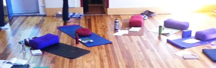 mats in studio