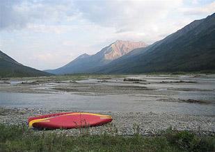 canoe wind river