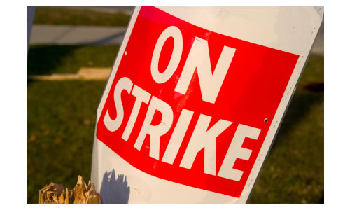 On strike 2