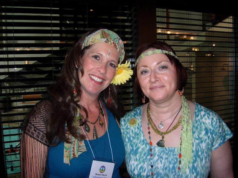 Monica and Vicky at CRAFTfest