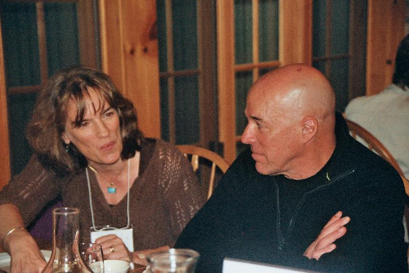 Leslie Connor and Randy Bulla