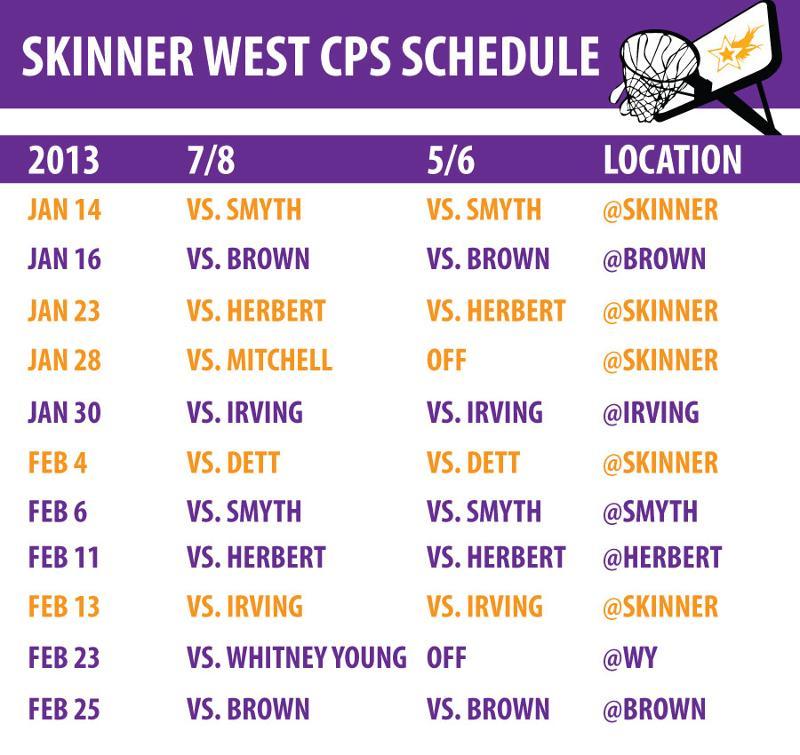 basketball schedule