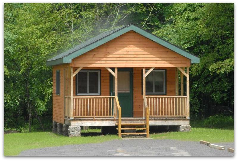 Allegany State Park Debuts new cabins at Group 5 Camp