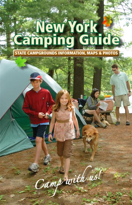 camping guide cover 2012