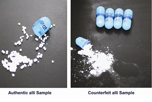 Alli Pill Sample