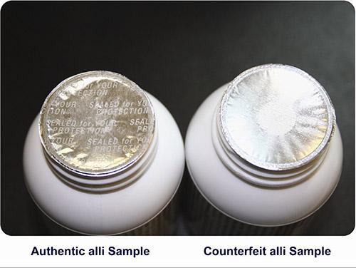 Alli Bottle Sample