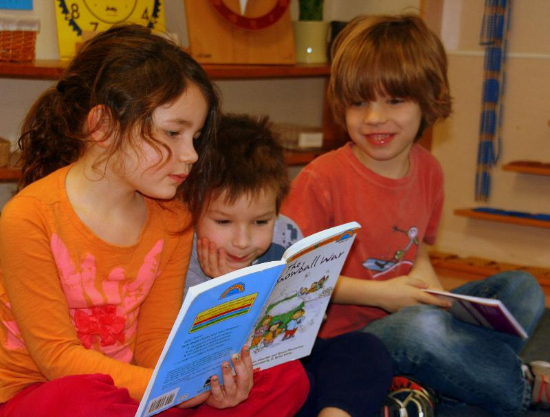 Children Reading - Adopt a Book