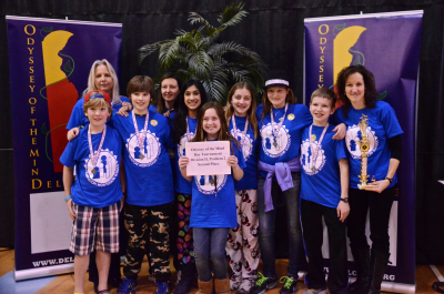 Odyssey of the Mind Team Photo