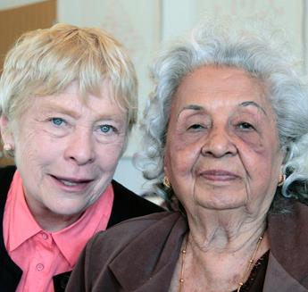 Marie and Lakshmi