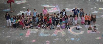 Preschool Peace Line-up