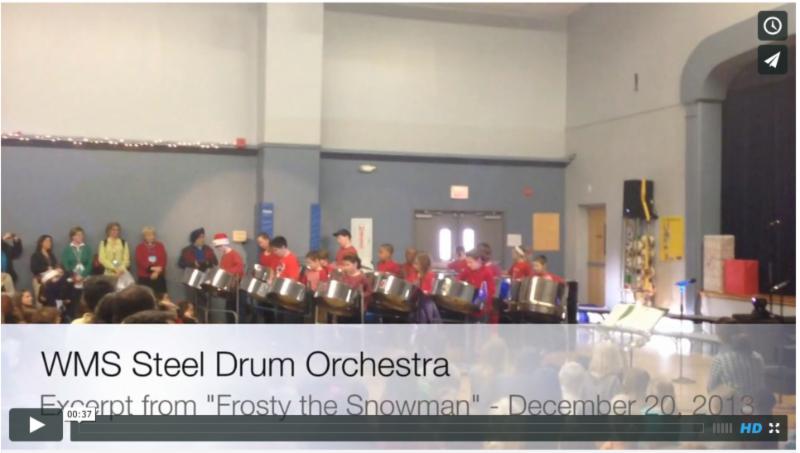 Winter 2013 Steel Drums