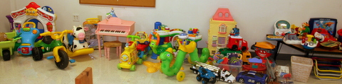 Rummage Sale Toys