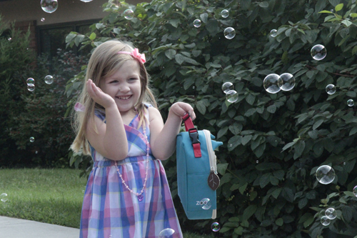 First Day of School Bubbles